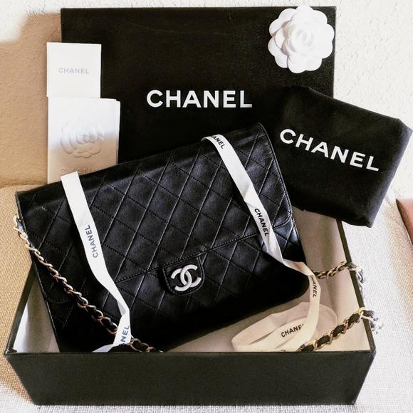 1bbcd8e0f78d CHANEL Handbags - 🆕Chanel Classic Flap Bag Black Lambskin Single VN